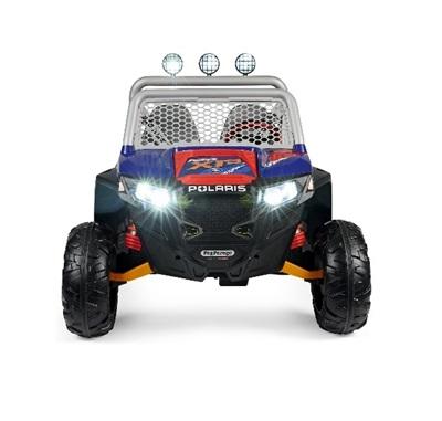 Masina electrica Peg Perego Polaris Ranger Rzr 900 XP 24V 3 ani + albastru - negru - 7