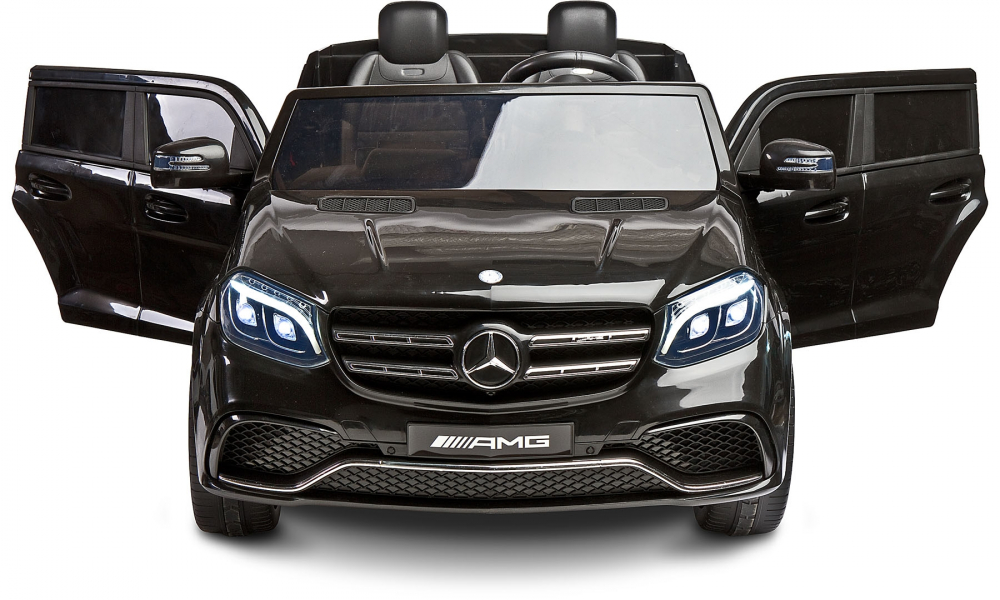 Masina electrica cu doua locuri Toyz Mercedes-Benz GLS63 12v neagra - 2