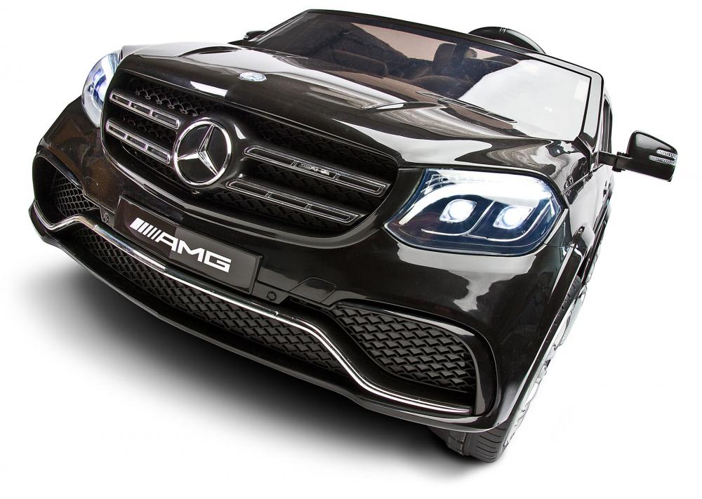 Masina electrica cu doua locuri Toyz Mercedes-Benz GLS63 12v neagra - 4