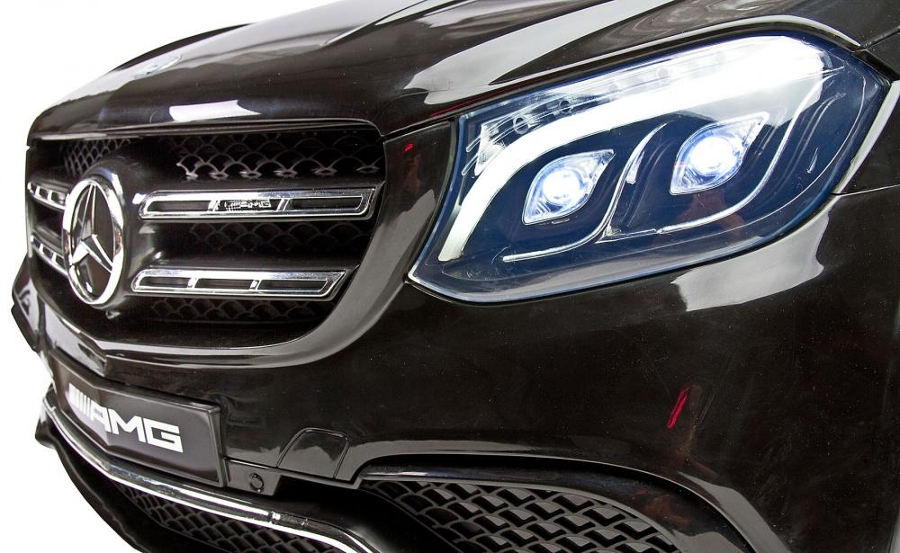 Masina electrica cu doua locuri Toyz Mercedes-Benz GLS63 12v neagra - 5