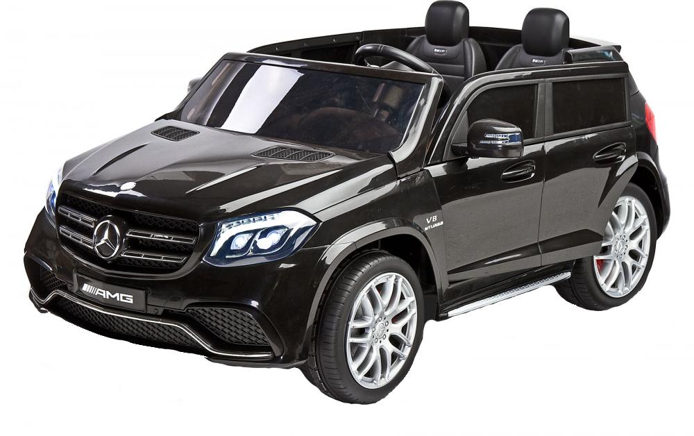 Masina electrica cu doua locuri Toyz Mercedes-Benz GLS63 12v neagra - 8