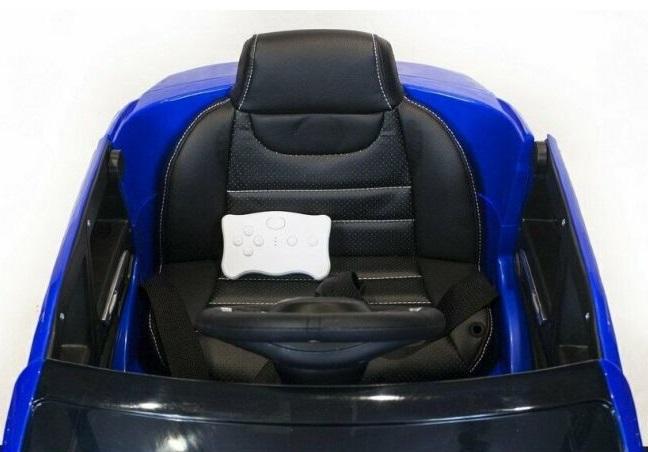 Masinuta electrica cu scaun din piele si roti EVA Mercedes Benz GLE63S AMG Red - 6