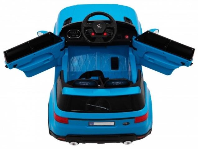Masinuta electrica cu telecomanda 2.4 Ghz Thunder Blue - 1