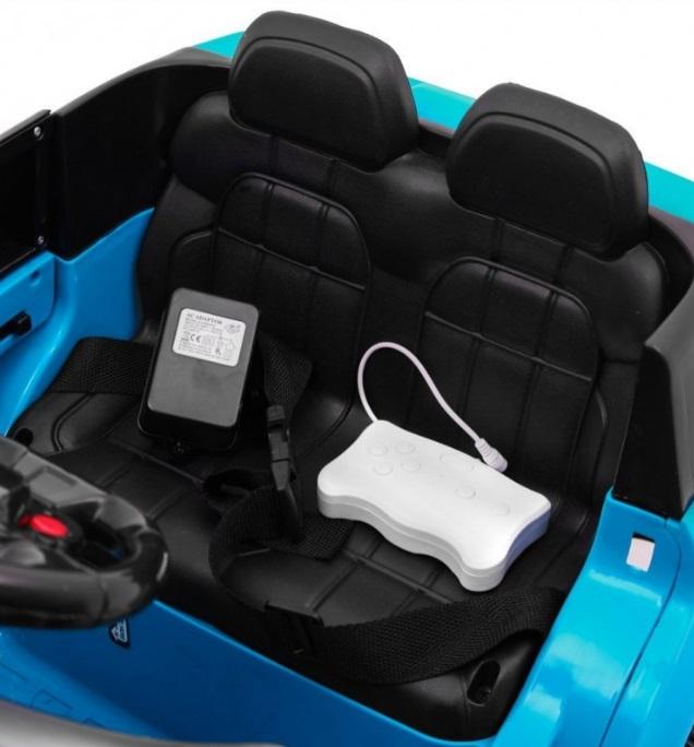 Masinuta electrica cu telecomanda 2.4 Ghz Thunder Blue - 3