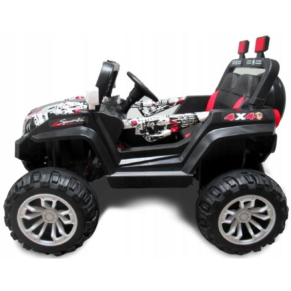 Masinuta electrica cu telecomanda 4 X 4 Buggy X7 R-Sport Alb