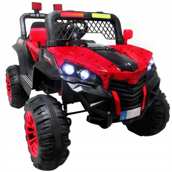 Masinuta electrica cu telecomanda 4 X 4 Buggy X7 R-Sport Rosu - 3