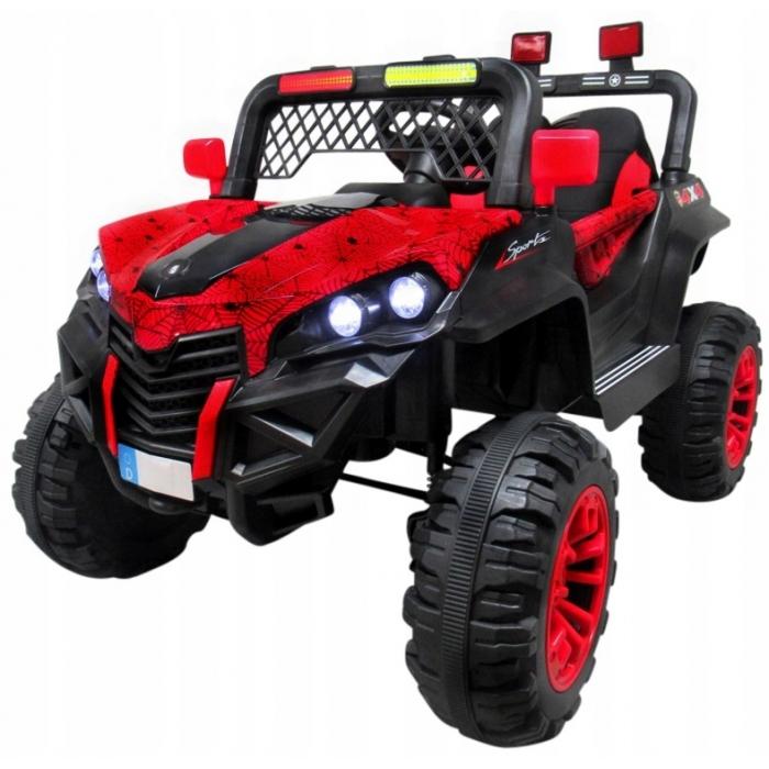 Masinuta electrica cu telecomanda 4 X 4 Buggy X7 R-Sport Rosu - 1
