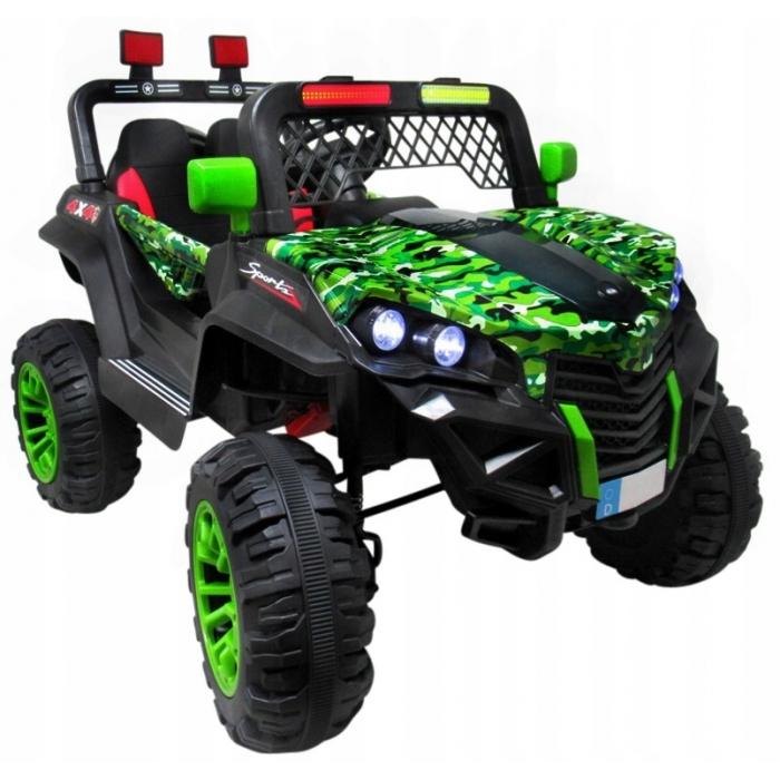 Masinuta electrica cu telecomanda 4 X 4 Buggy X7 R-Sport Verde - 4