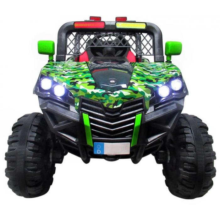 Masinuta electrica cu telecomanda 4 X 4 Buggy X7 R-Sport Verde