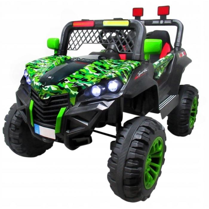 Masinuta electrica cu telecomanda 4 X 4 Buggy X7 R-Sport Verde - 1