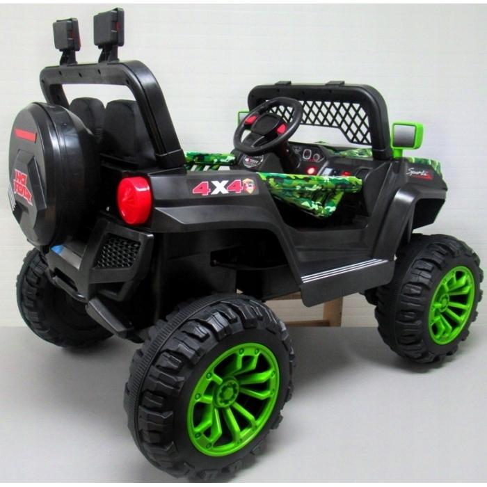 Masinuta electrica cu telecomanda 4 X 4 Buggy X7 R-Sport Verde - 2