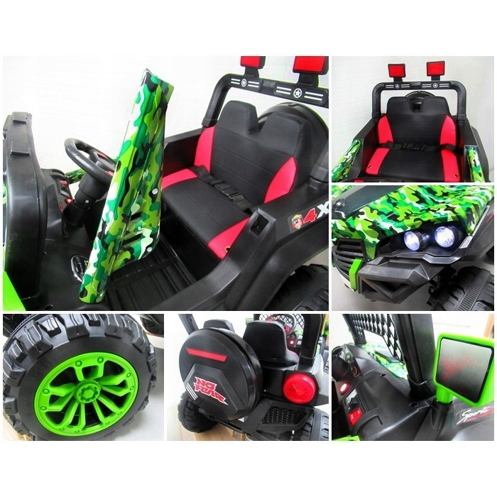 Masinuta electrica cu telecomanda 4 X 4 Buggy X7 R-Sport Verde - 3