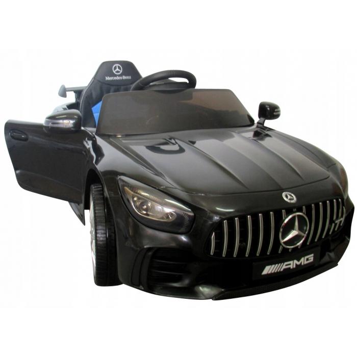 Masinuta electrica cu telecomanda Mercedes AMG GTR-S R-Sport Negru - 5