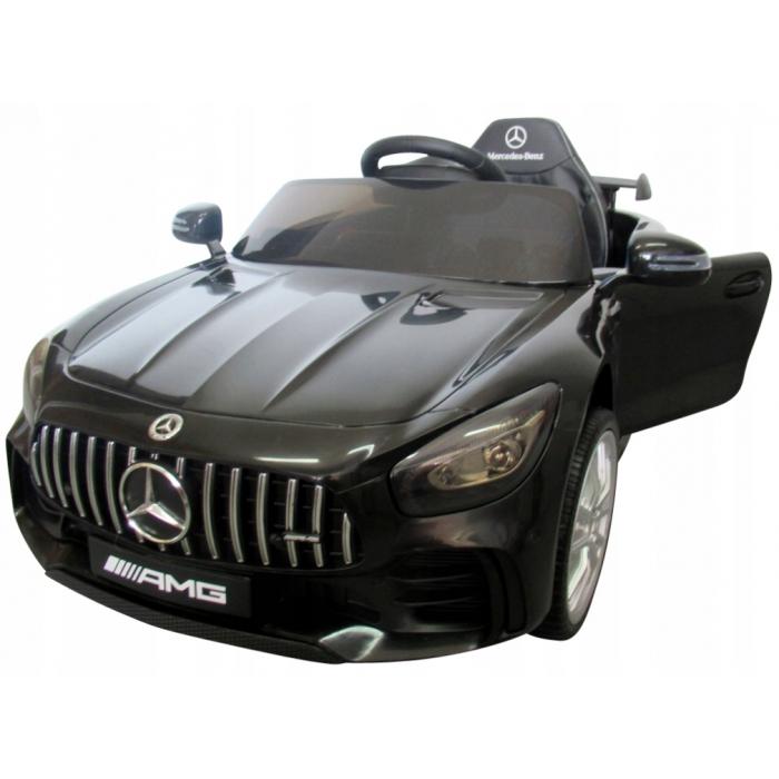 Masinuta electrica cu telecomanda Mercedes AMG GTR-S R-Sport Negru