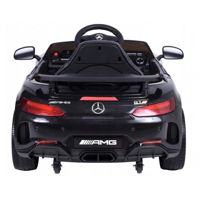 Masinuta electrica cu telecomanda Mercedes AMG GTR-S R-Sport Negru - 1