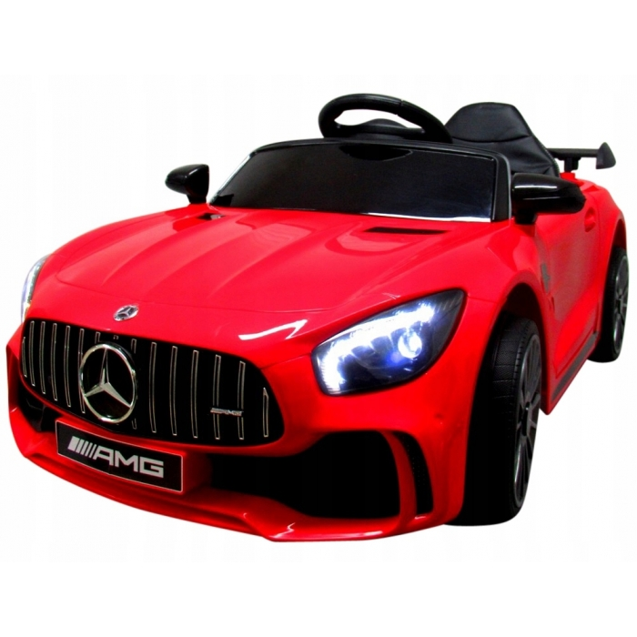 Masinuta electrica cu telecomanda Mercedes AMG GTR-S R-Sport Rosu