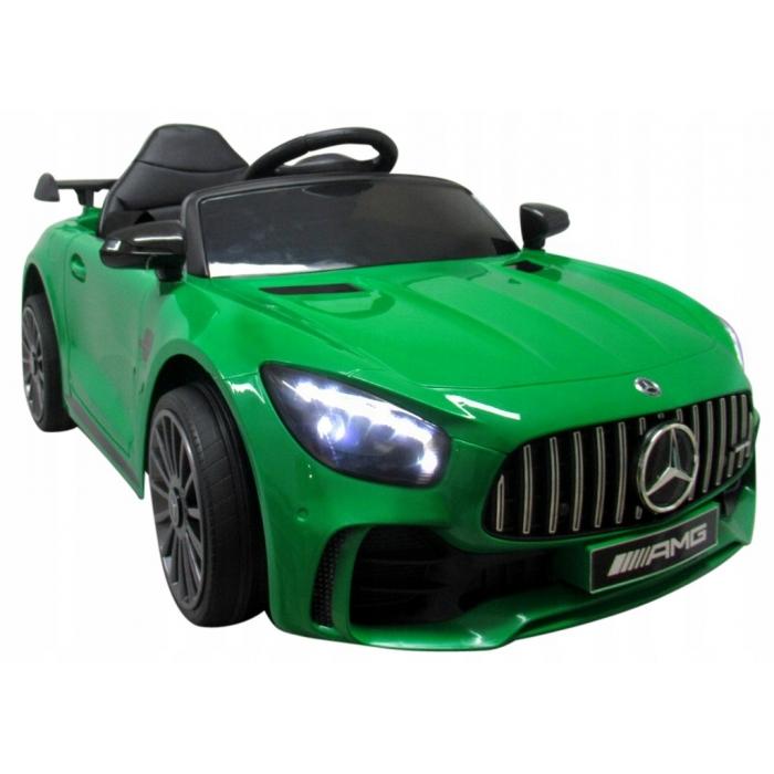 Masinuta electrica cu telecomanda Mercedes AMG GTR-S R-Sport Verde - 2