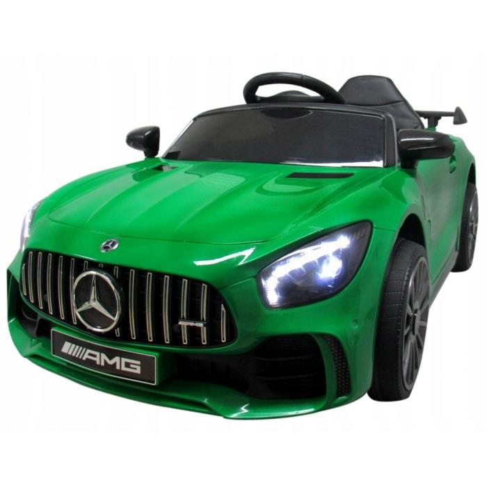 Masinuta electrica cu telecomanda Mercedes AMG GTR-S R-Sport Verde