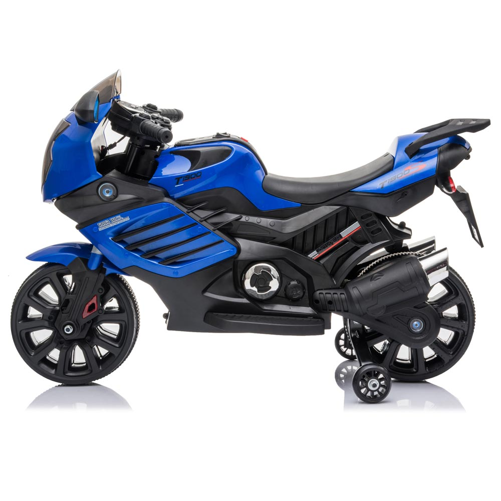 Motocicleta electrica LQ168 BIG blue