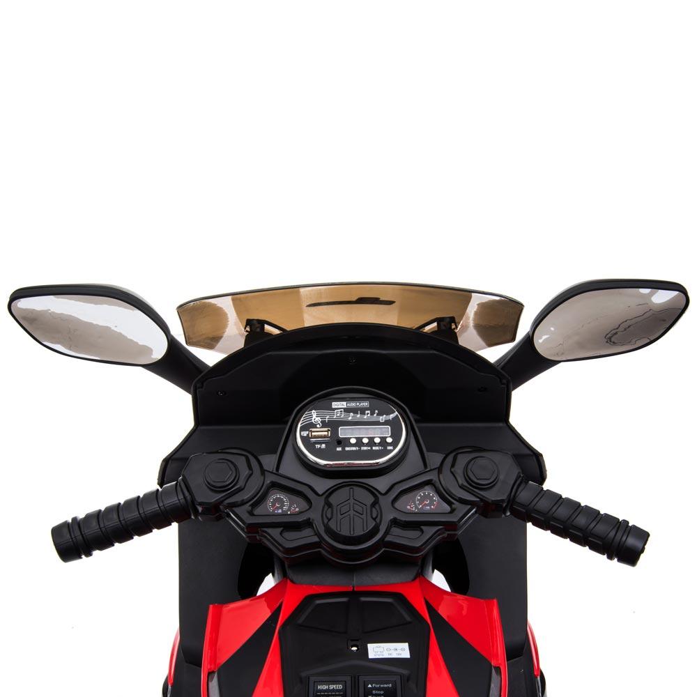 Motocicleta electrica LQ168A Trike blue - 1