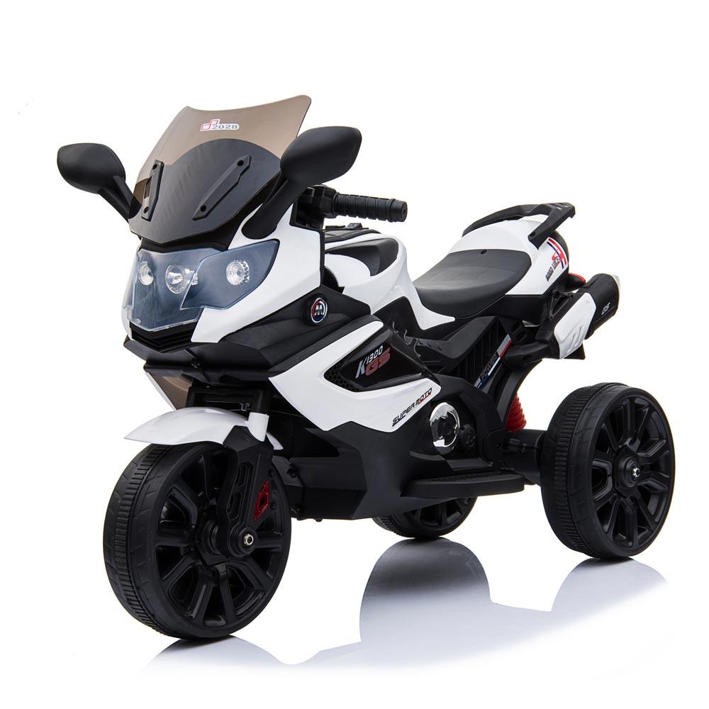 Motocicleta electrica LQ168A Trike white - 4
