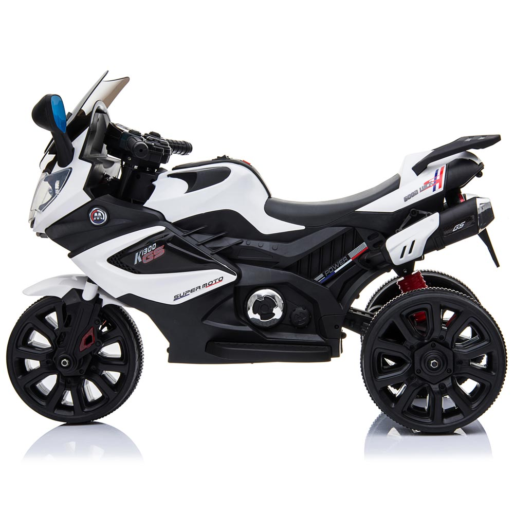 Motocicleta electrica LQ168A Trike white