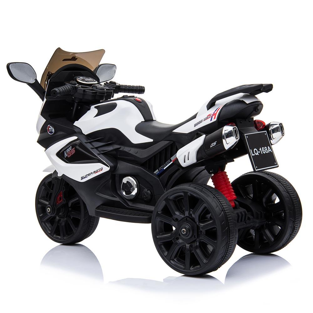 Motocicleta electrica LQ168A Trike white - 1