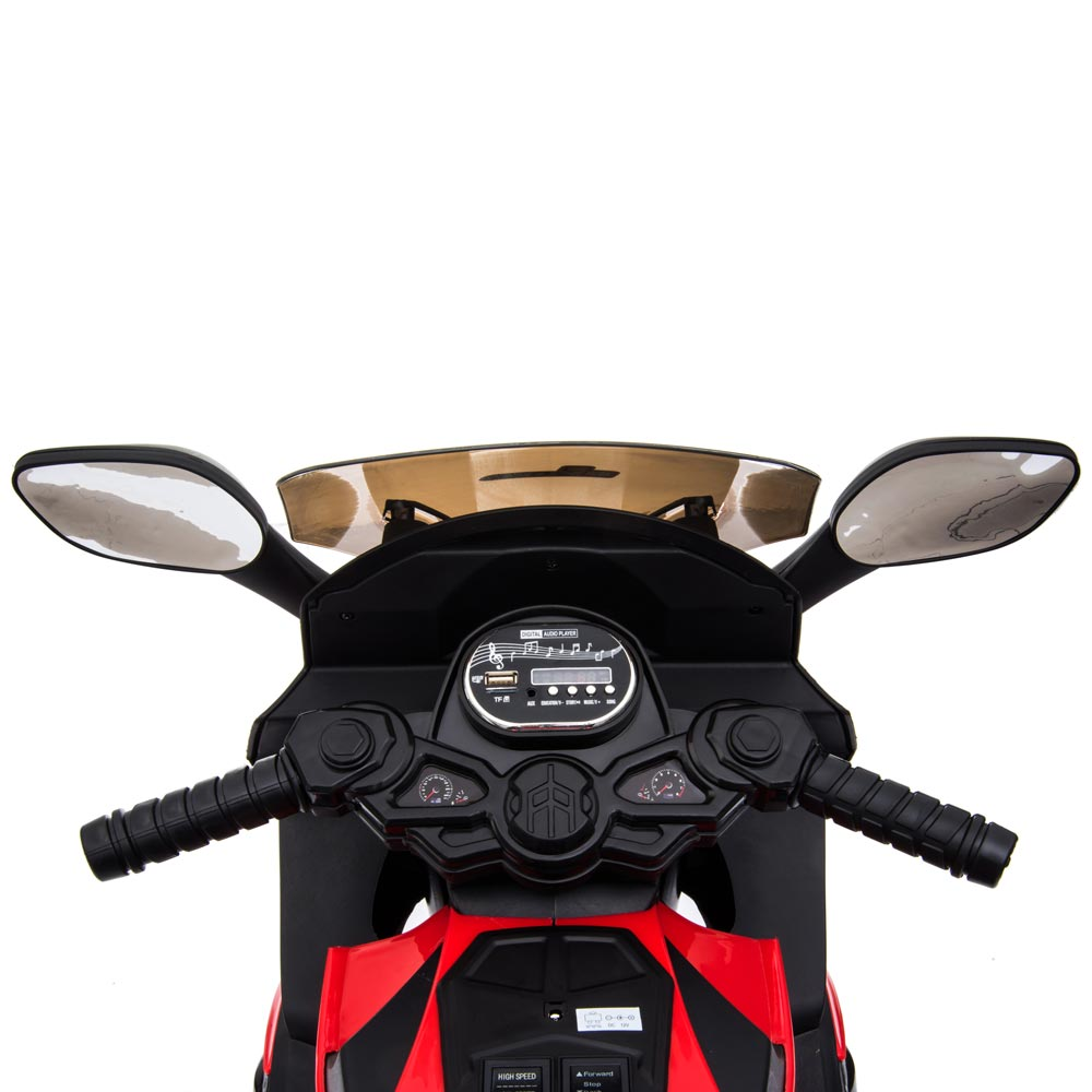 Motocicleta electrica LQ168A Trike white - 2