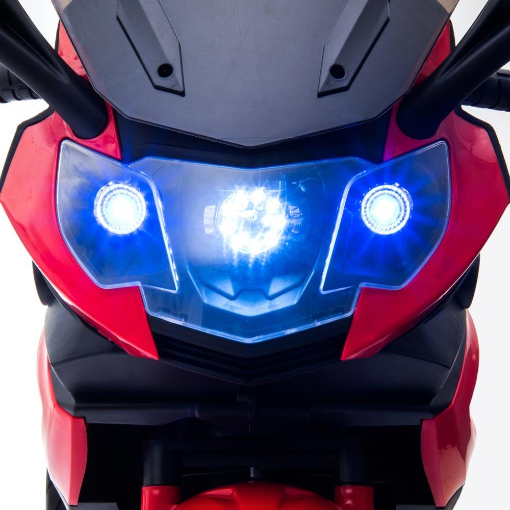 Motocicleta electrica LQ168A Trike white - 3