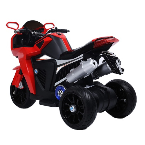 Motocicleta electrica cu lumini Flash True Red
