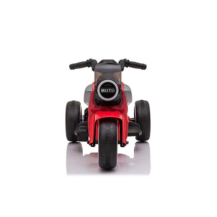 Motocicleta electrica cu scaun din piele si roti EVA Nichiduta Moto Red - 1