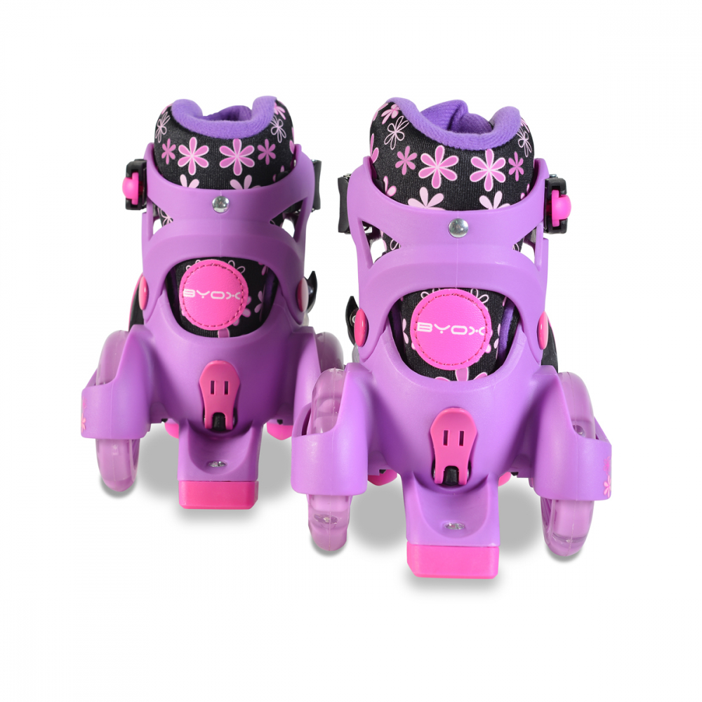 Patine cu rotile Little Beetle Violet Girl XS 26-29