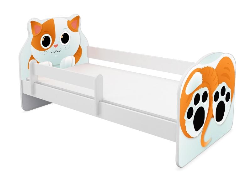 Patut tineret MyKids Animals Cat 140x70 cm