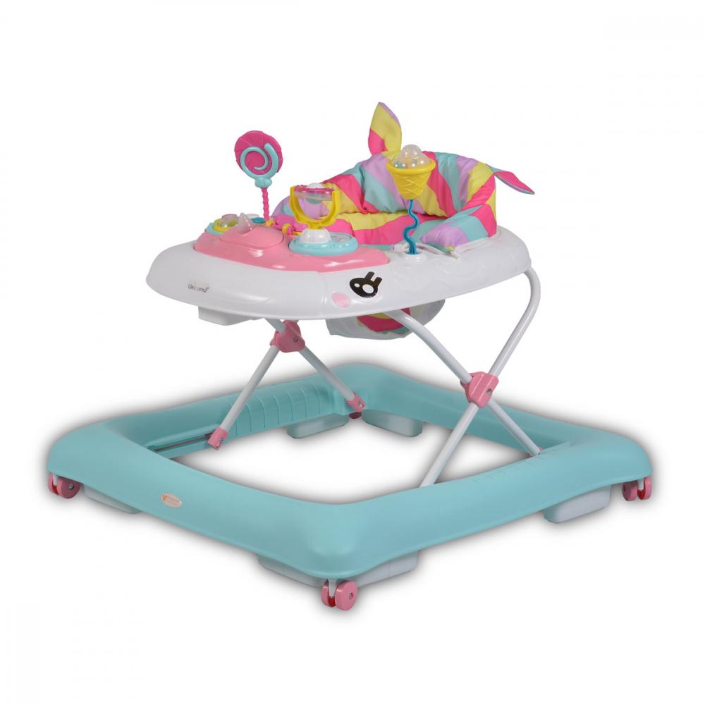 CANGAROO Premergator cu panou muzical si lumini Cangaroo Unicorn Pink