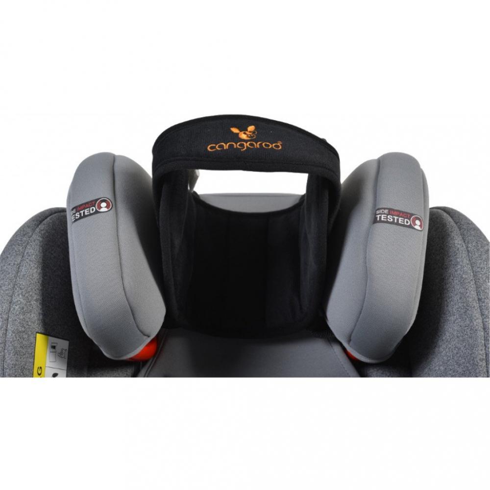 CANGAROO Protectie ergonomica pentru scaun auto Cangaroo Shelter Black