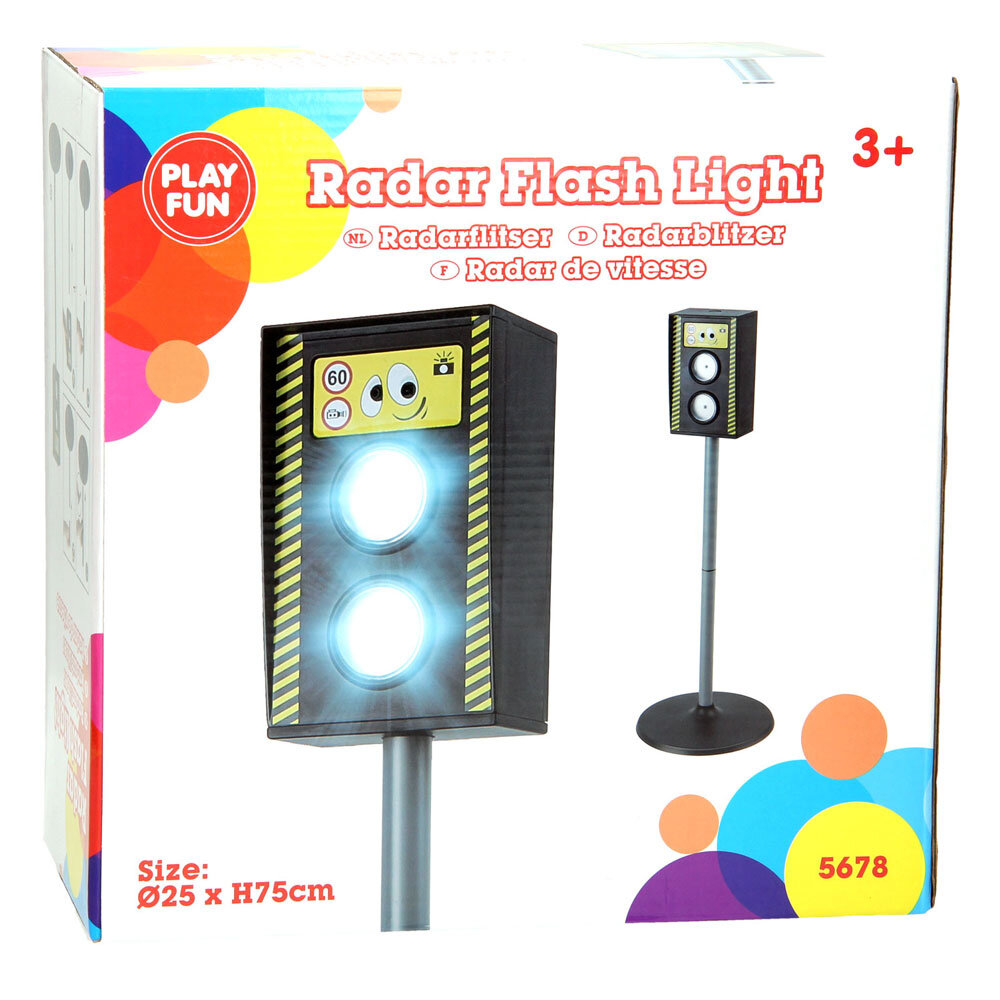 Radar pentru copii PlayFun Flash Light