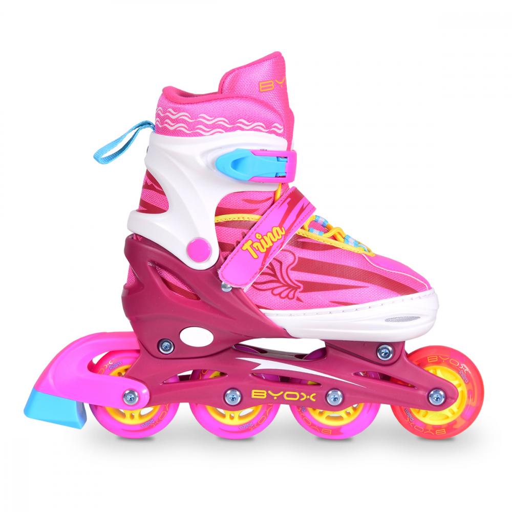 Role copii reglabile 38-41 Byox Trina L Pink