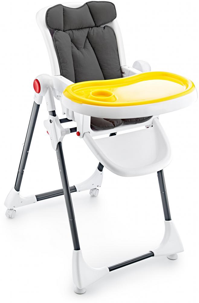 Saltea pentru carucior si scaun de masa BabyJem Dots Bej