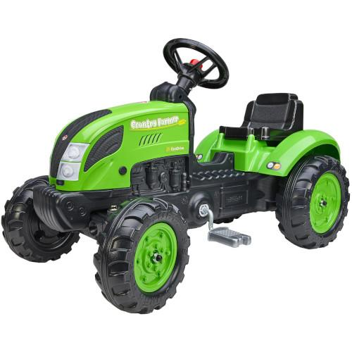 Tractor cu pedale Country Farmer Green - 1