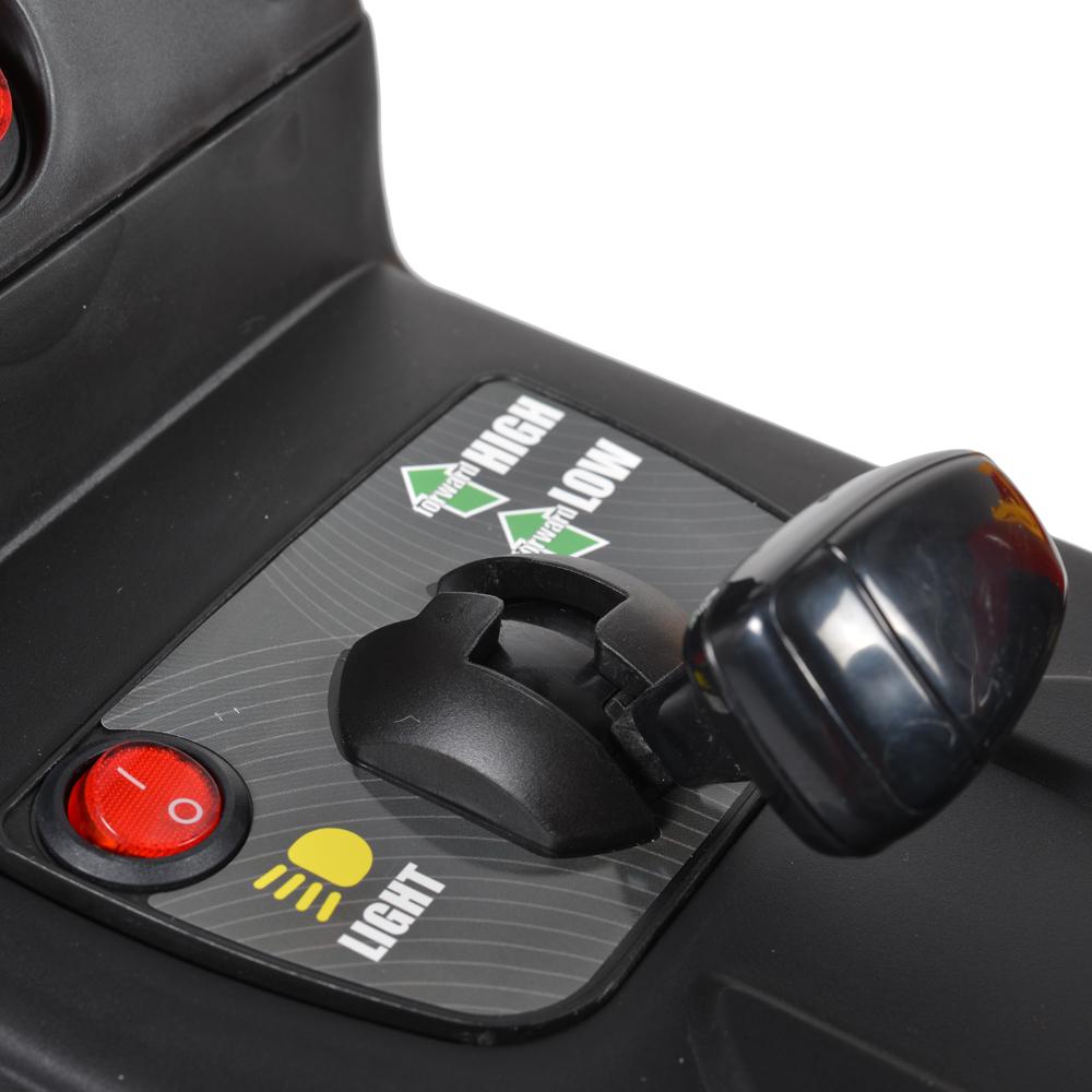Tractor electric cu remorca Moni Trailer Green - 1