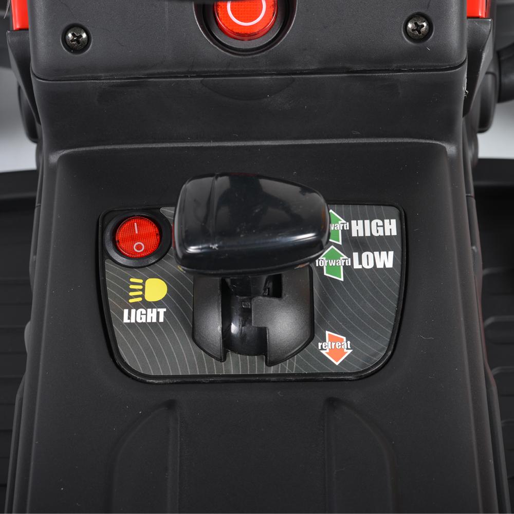 Tractor electric cu remorca Moni Trailer Green - 2