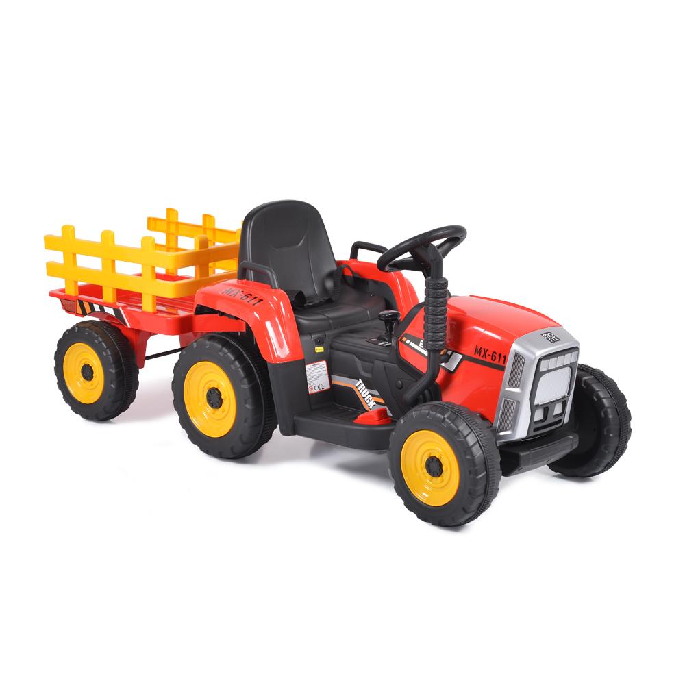 Tractor electric cu remorca Moni Trailer Red - 4