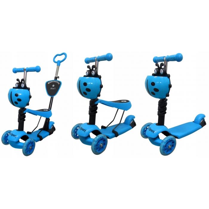 Trotineta 5 in 1 R-Sport H3 albastru