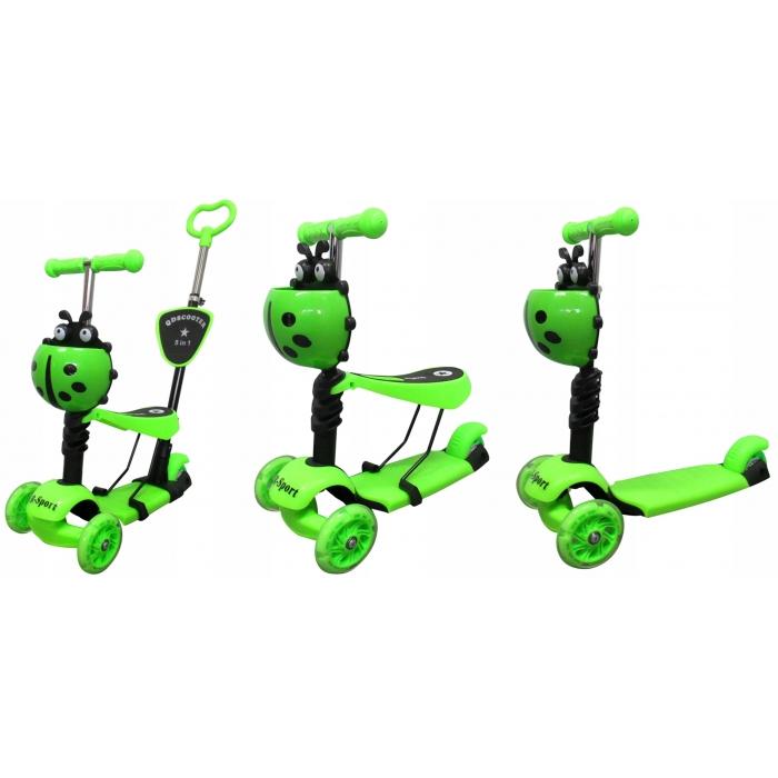 Trotineta 5 in 1 R-Sport H3 verde