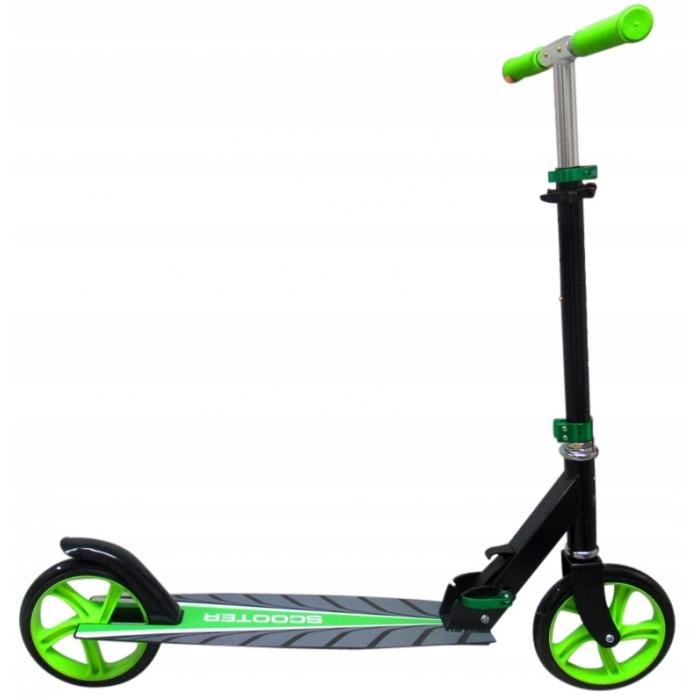 Trotineta pliabila R-Sport H4 verde