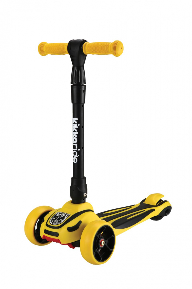 Trotineta cu lumini LED Roadster Yellow 2020