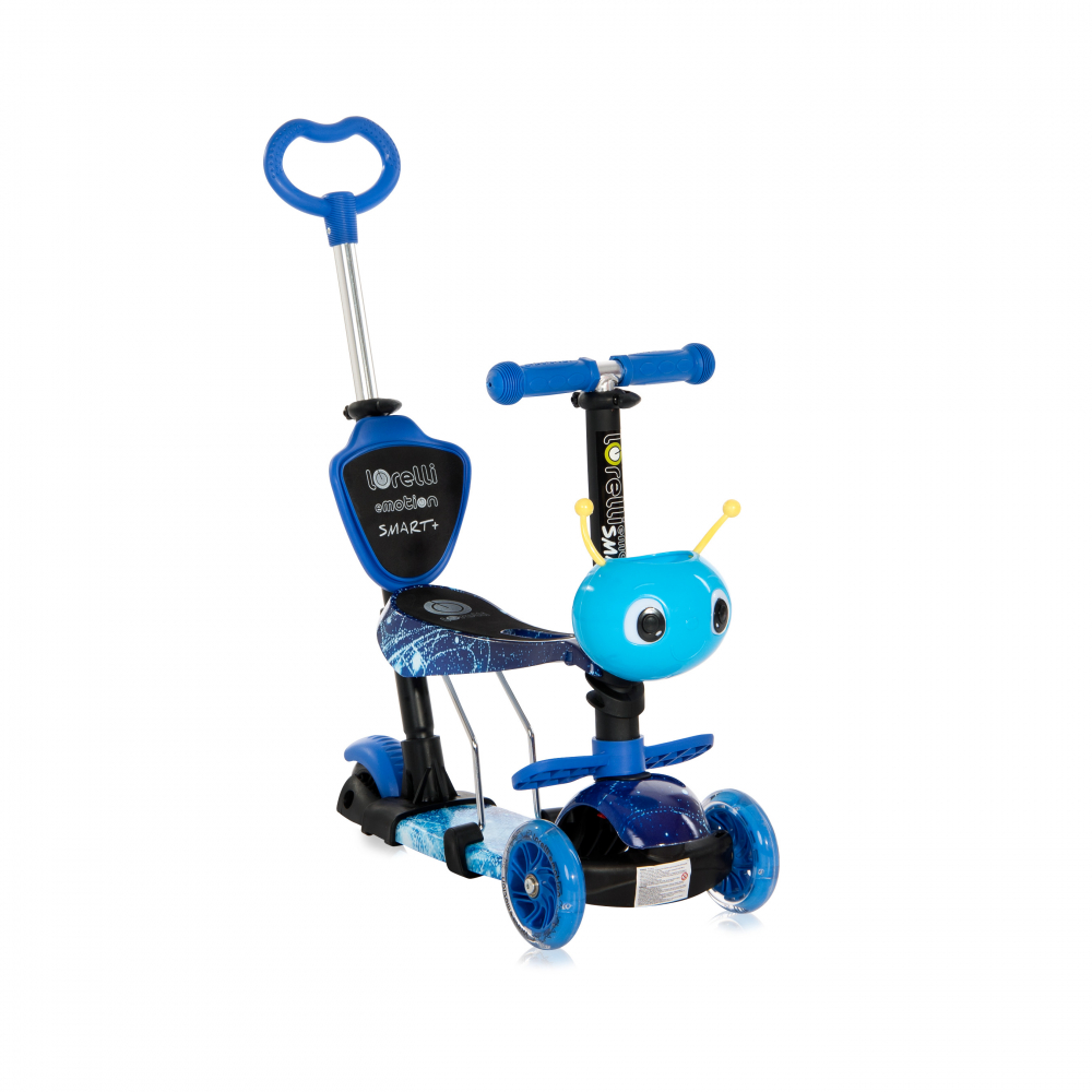 Trotineta pentru copii Smart Plus Blue Cosmos - 2