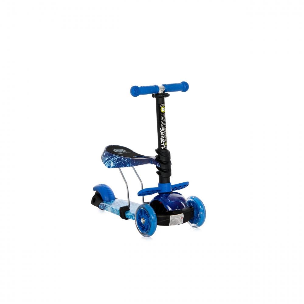 Trotineta pentru copii Smart Plus Blue Cosmos - 1