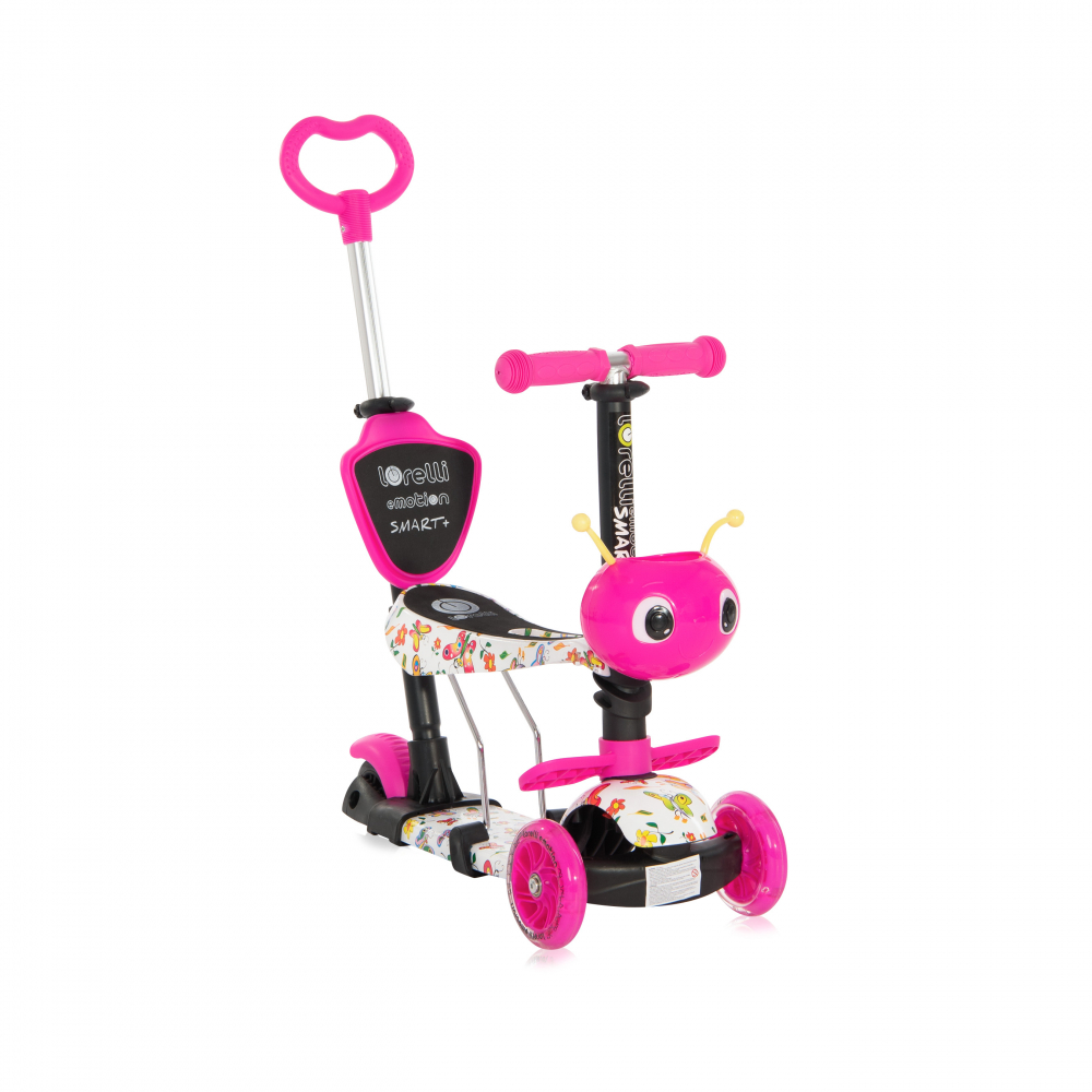 Trotineta pentru copii Smart Plus Pink Butterfly - 2