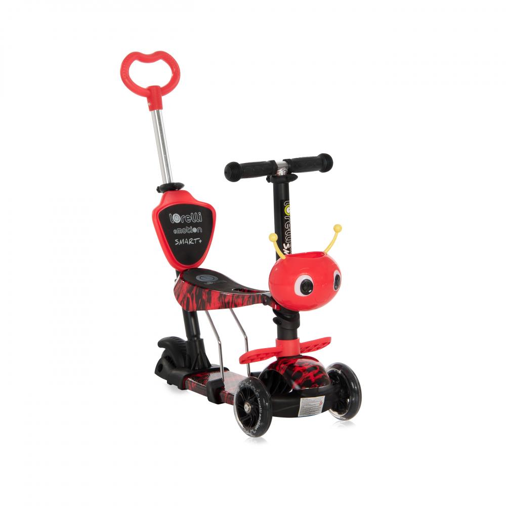 Trotineta pentru copii Smart Plus Red Fire - 2